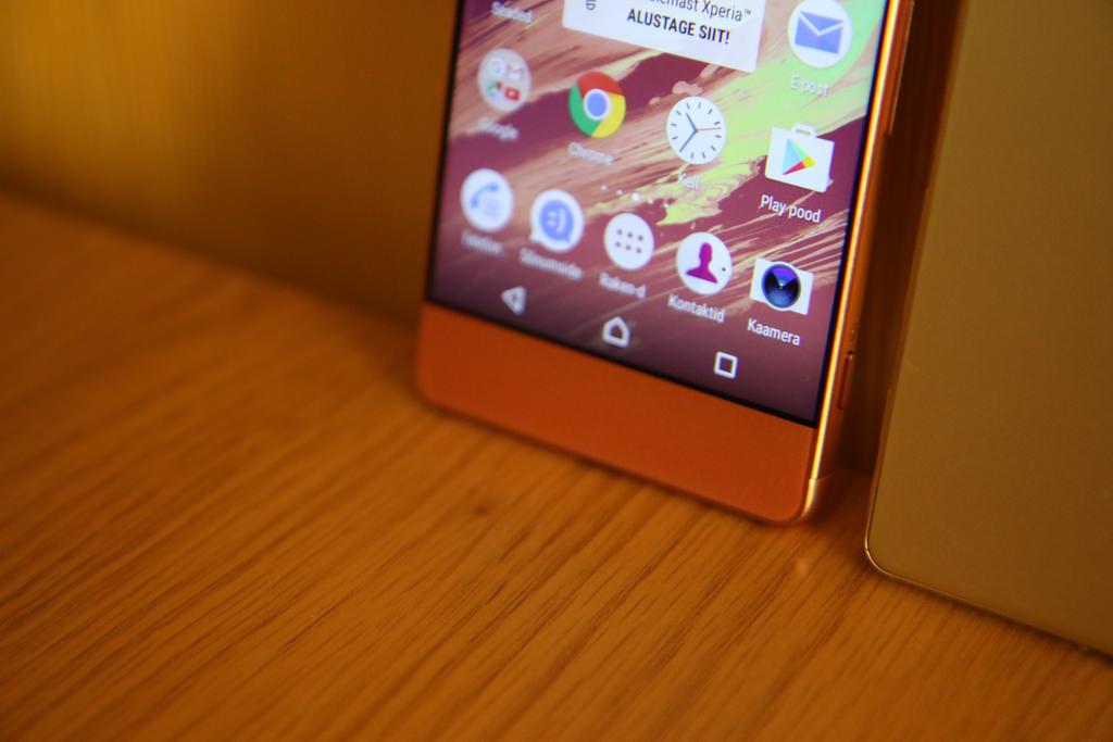 xperia xa smartfon sony