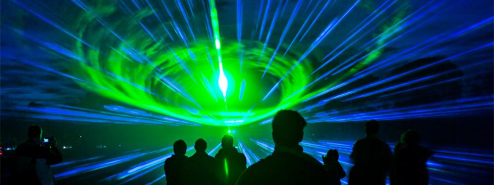 Wynajem laserów na pokazy
